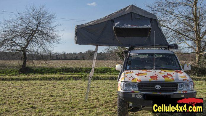 Tente de toit souple Euro 4x4 Part