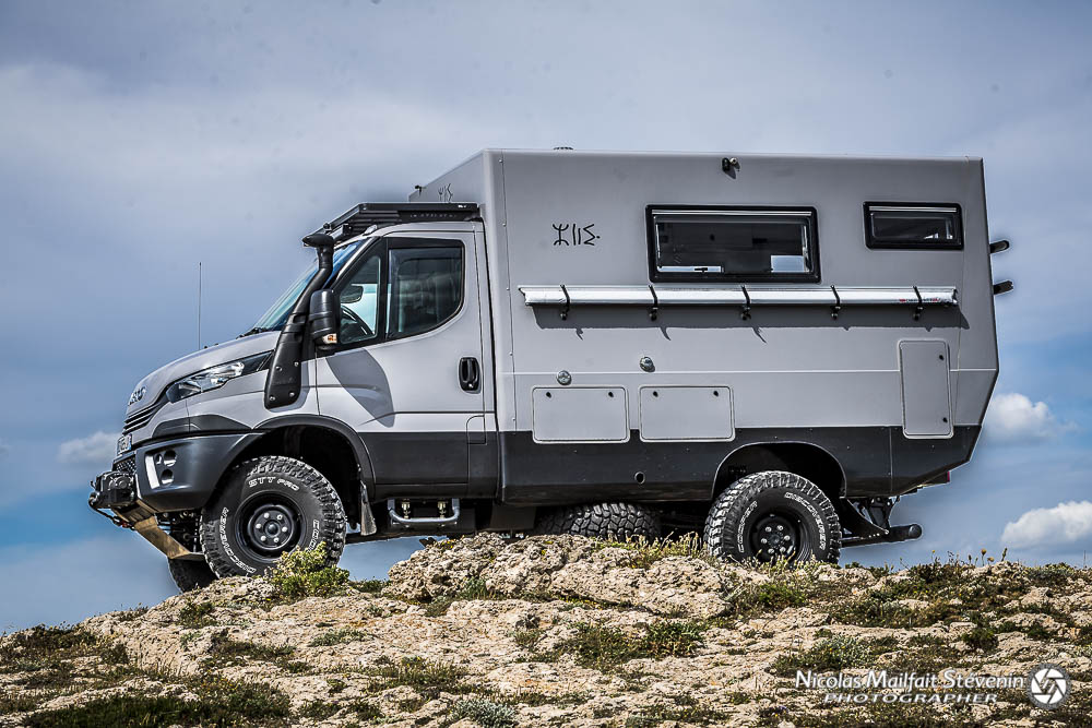 Azalai Truck sur un Iveco 4x4