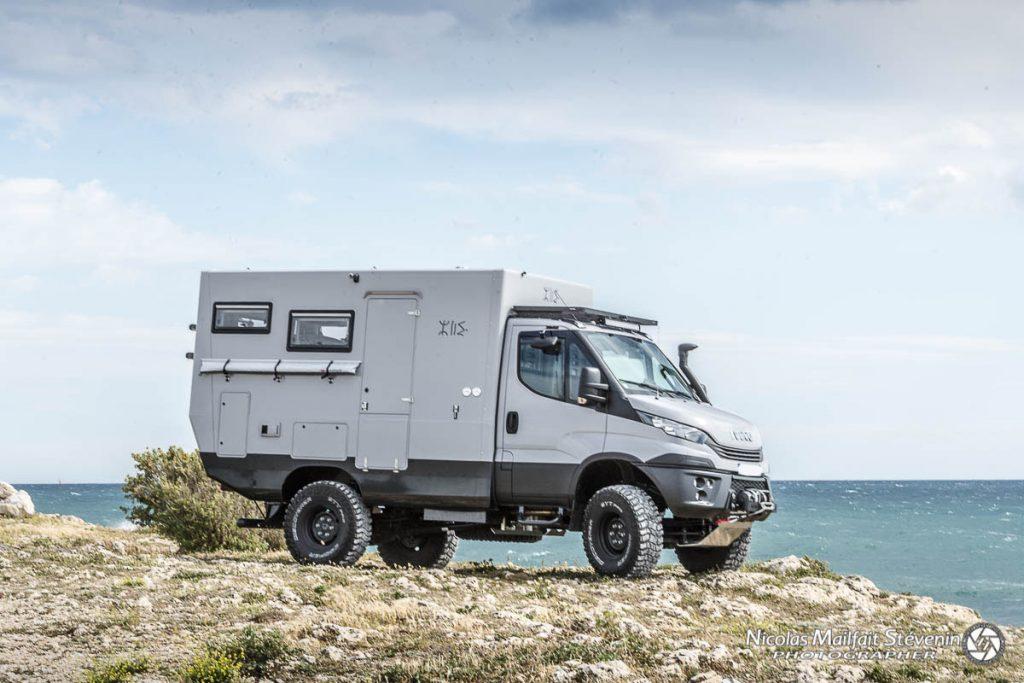 Cellule Azalai Truck sur Iveco Daily 4x4 5.5t