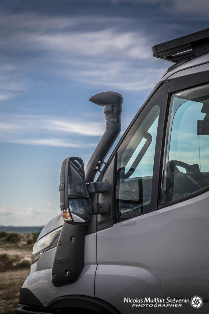 Snorkel pour l'Iveco Daily 4x4