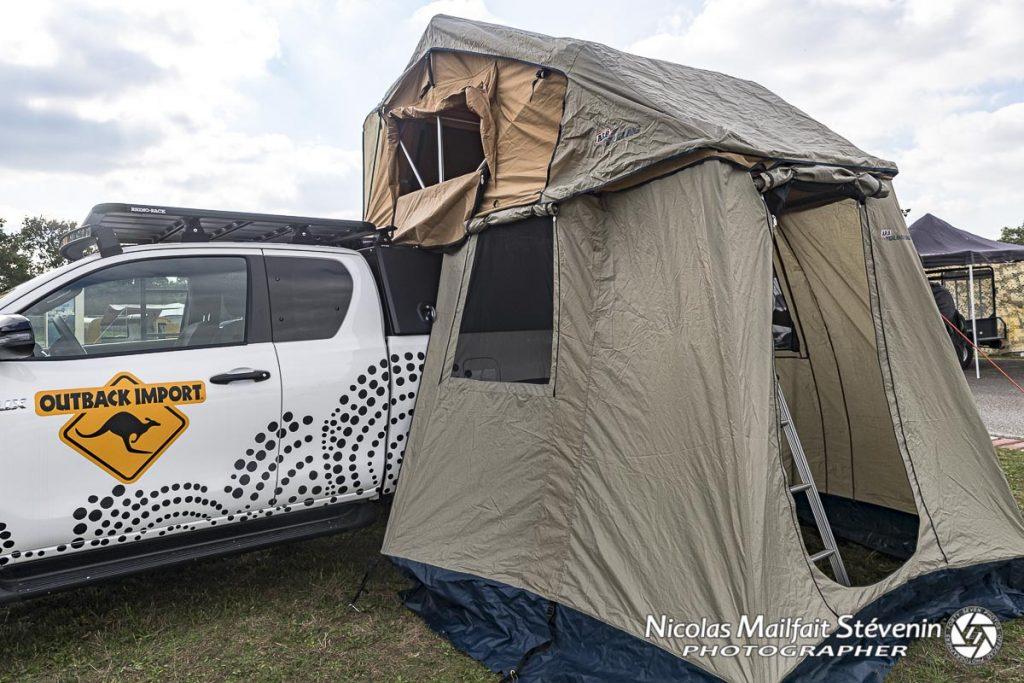 La tente de toit ARB et son annexe proposent de grands volumes