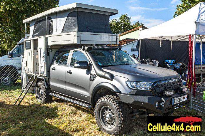 Cellule Globe 360 Doka sur Ford Ranger double cabine