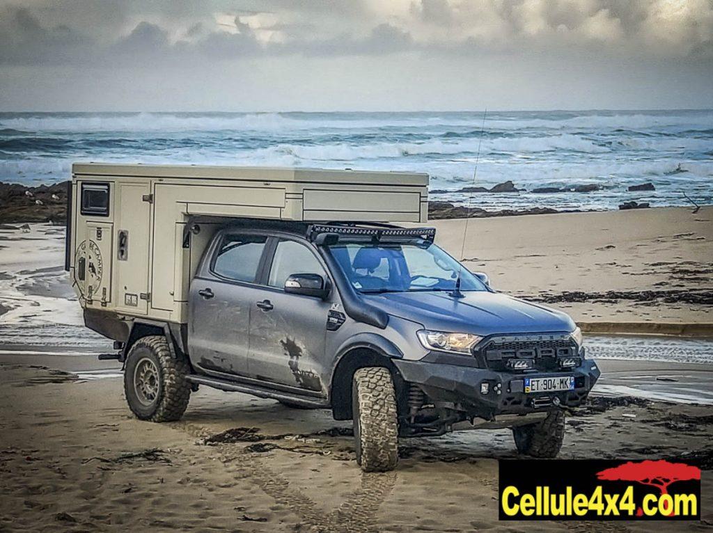 La Globe Ranger Doka sur un Ford double cabine