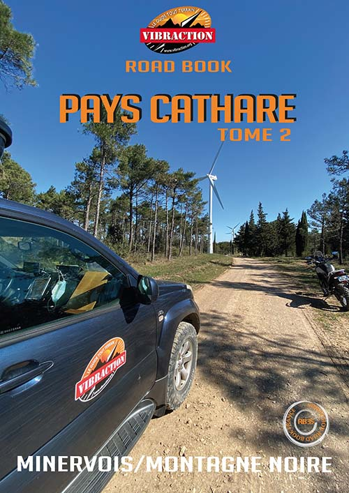 Road book Pays Cathare Minervois / Montagne Noire
