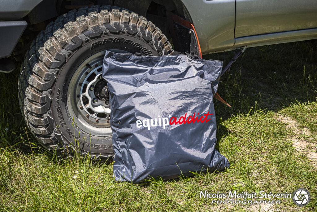 Le sac pour ranger l'annexe