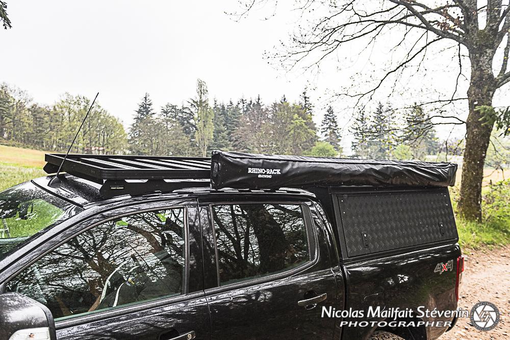 AluCab Hard Top modèle Adventure sur Ford Ranger