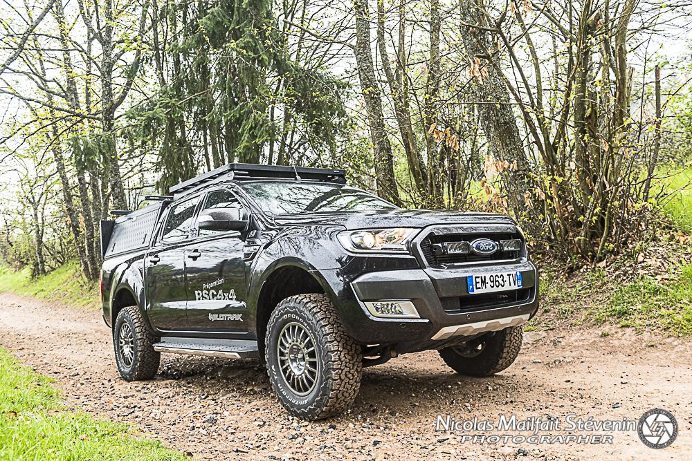 Ford Ranger Wildtrack pour voyager en 4x4