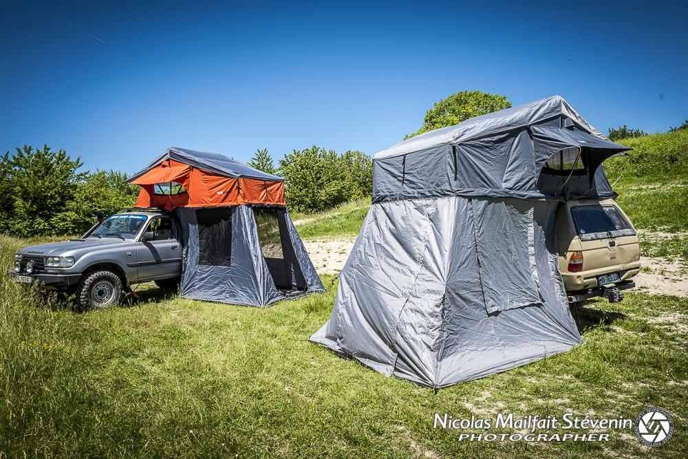 Le bivouac est il autorisé en 4x4 ou dans sa tente de toit