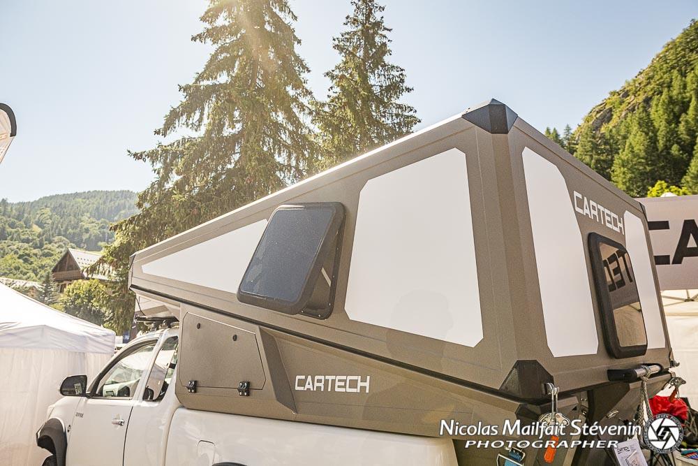 cellule Cartech à toit relevable rigide