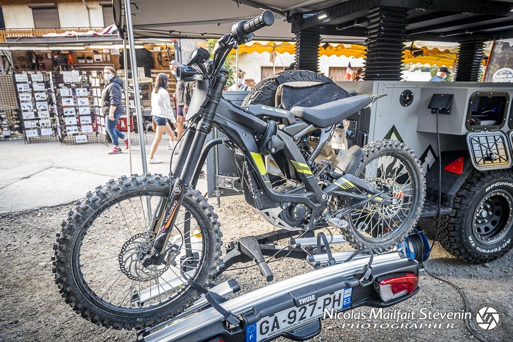 la petite moto électrique SUR-ON LightBee